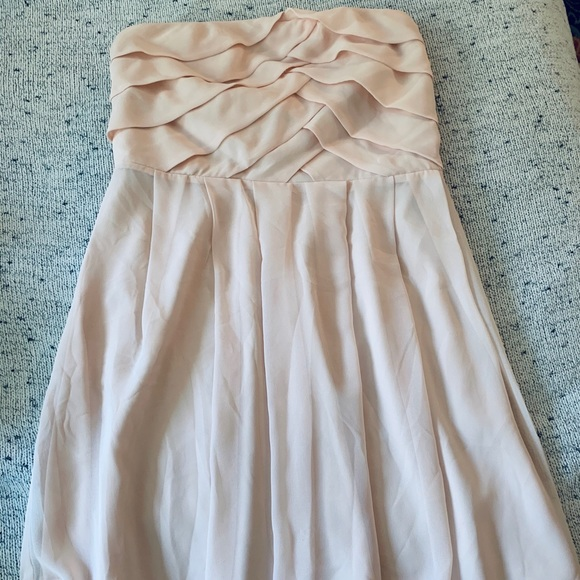 Express Dresses & Skirts - Blush strapless dress